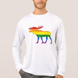 Camiseta Alces do arco-íris