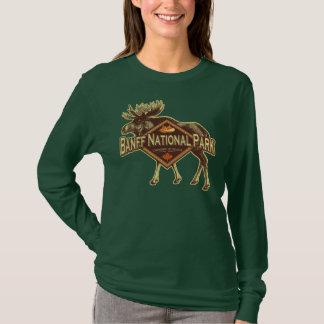 Camiseta Alces do parque nacional de Banff