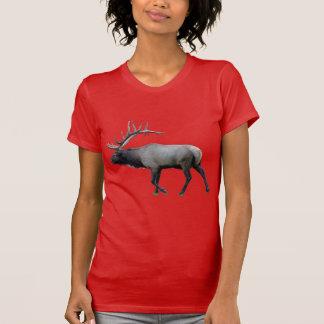 Camiseta Alces do veado norte-americano do salgueiro