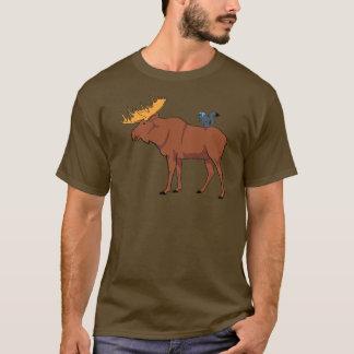 Camiseta Alces e esquilo