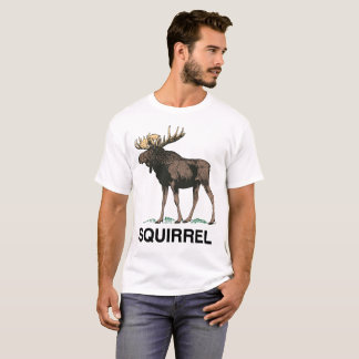 Camiseta Alces, ou esquilo
