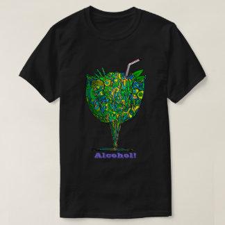Camiseta Álcool do bebendo! T-shirt escuro