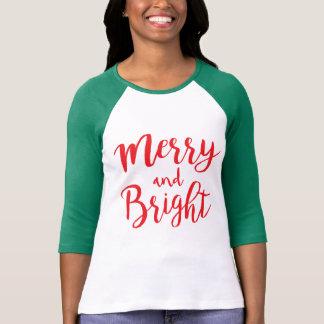 Camiseta Alegre & brilhante