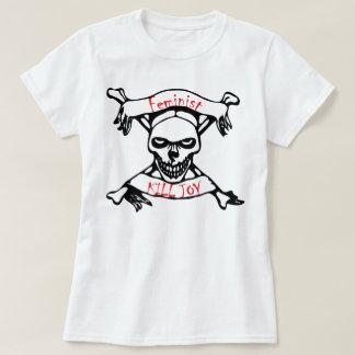 Camiseta Alegria feminista do matar