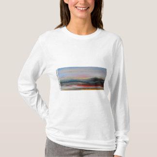 Camiseta Além hoodie da paisagem
