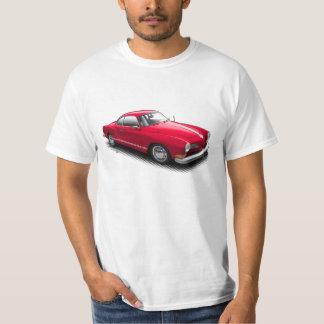 Camiseta Alemão clássico vermelho Ghia no t-shirt branco