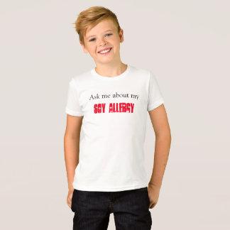 Camiseta Alergia da soja