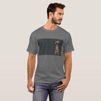 Camiseta Aleta da orelha de cão