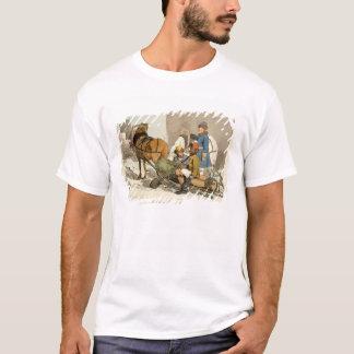 Camiseta Aletas que trazem peixes vivos introduzir no