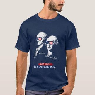 Camiseta Alexander Hamilton, George Washington - esfrie