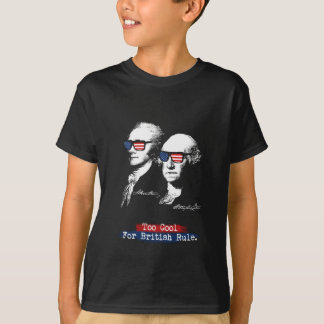 Camiseta Alexander Hamilton, George Washington - esfrie
