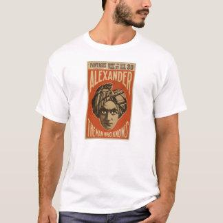 Camiseta Alexander sabe
