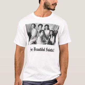 Camiseta Alexandra e filhas, cinco santos bonitos!