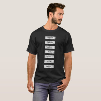 Camiseta Alfabeto