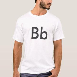 Camiseta Alfabeto - Bb