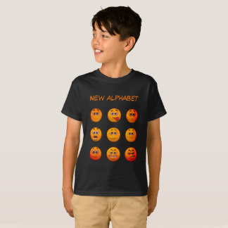 Camiseta Alfabeto novo