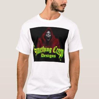 Camiseta algo design assustador