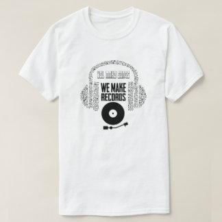 Camiseta algo para meus artista e melómanos companheiros