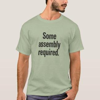 Camiseta Algum conjunto exigido