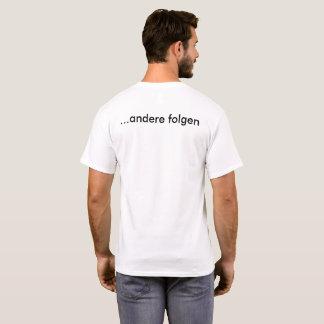 Camiseta Algum guiam, outras consequências