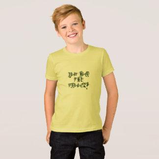 Camiseta Algum para o tênis?