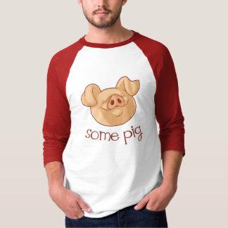 Camiseta Algum porco!