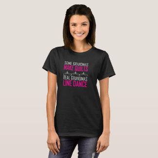 Camiseta Algumas avós fazem às edredões avós reais linha