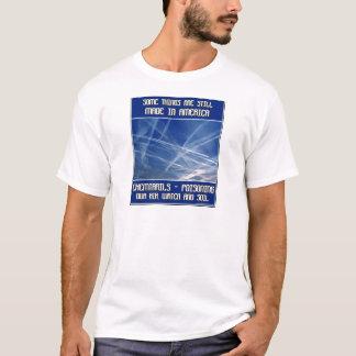 Camiseta Algumas coisas são feitas ainda em América