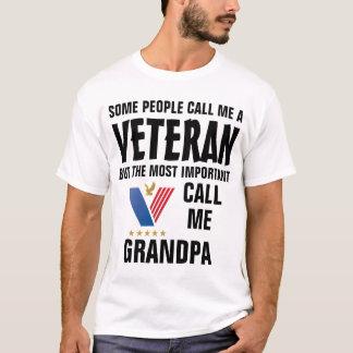 Camiseta Algumas pessoas chamam-me um veterano