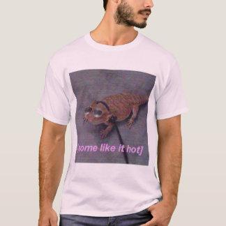 Camiseta Alguns gostam d t-shirt quente do lagarto