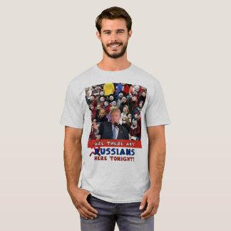 Camiseta Alguns russos, reunião do trunfo, trunfo, Rússia,