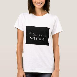 Camiseta Aliado, advogado, t-shirt do guerreiro
