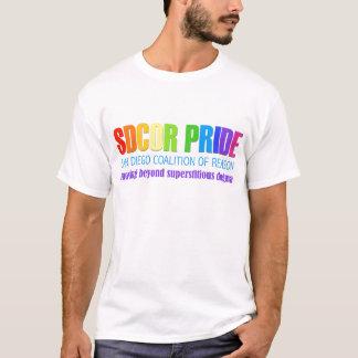Camiseta Aliança de San Diego do orgulho da razão