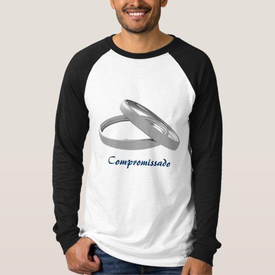 Camiseta Aliança.Prateada, Compromissado