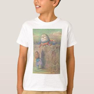 Camiseta Alice encontra Humpty Dumpty
