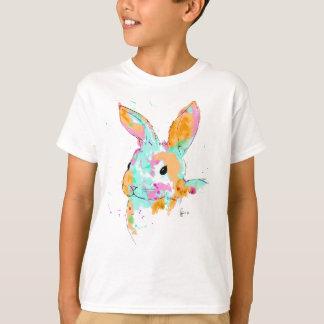 Camiseta Alice no design da cor de água do país das
