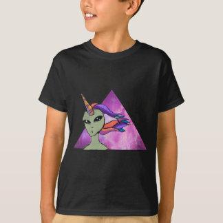 Camiseta Alien Unicornio