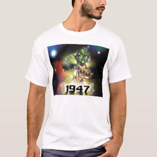 Camiseta alienígena 1947 tripla