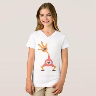 Camiseta Alienígena acessível bonito do olho