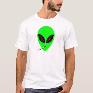 Camiseta Alienígena apedrejada