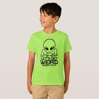 Camiseta Alienígena de Len-X