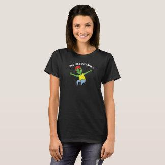 Camiseta Alienígena engraçada - dê-me algum t-shirt da