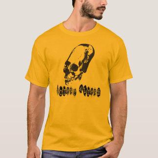 Camiseta Aliens antigos - t-shirt alongado do crânio