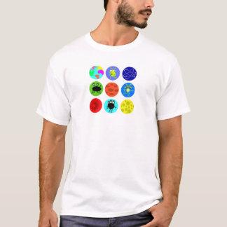 Camiseta Aliens e planetas