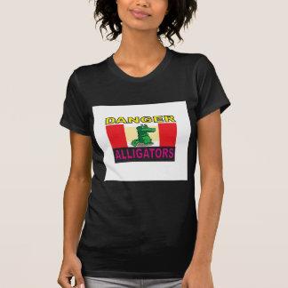 Camiseta aligators do perigo