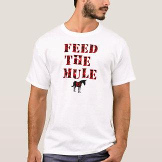 Camiseta Alimente a mula Johan Franzen