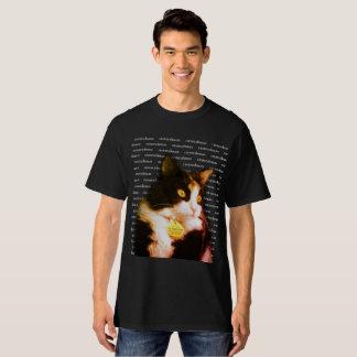 Camiseta Alimente ao gato o T alto