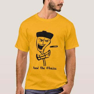 Camiseta alimente as correntes, alimente as correntes