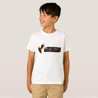 Camiseta Alimente-me cenouras t-shirt do na moda