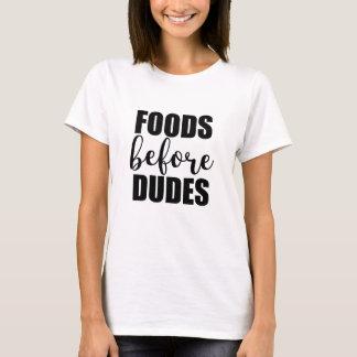 Camiseta Alimentos antes dos gajos - citações de tensão
